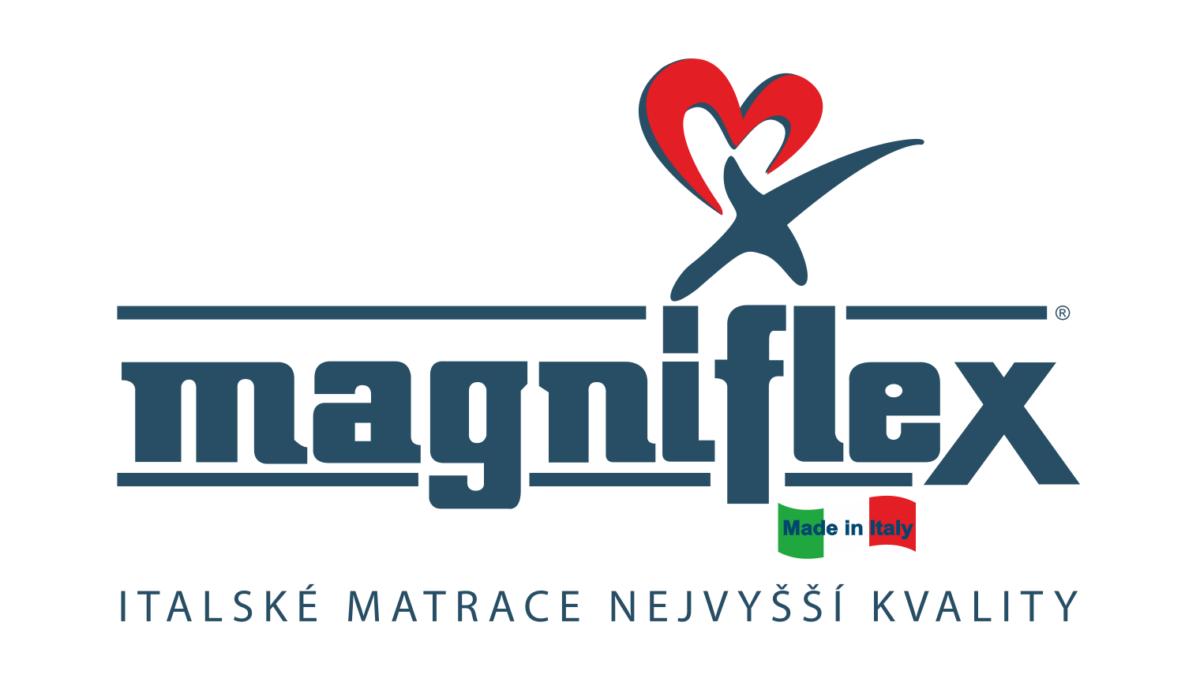 Logo Magniflex italské matrace nejvyšší kvality nábytek styl turnov